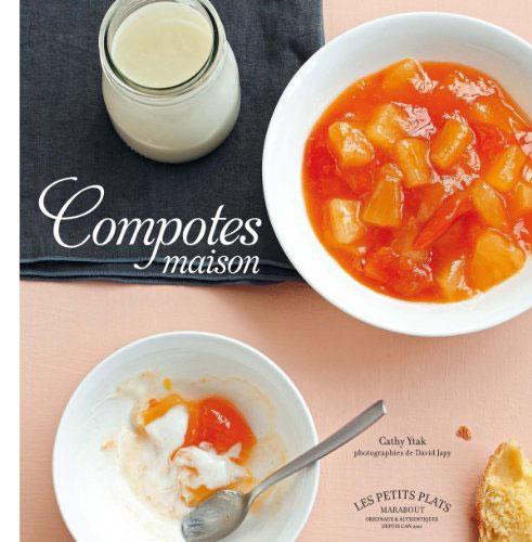 Compotes maison, livre de cuisine