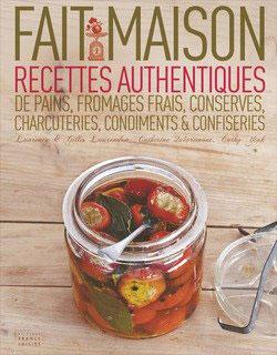 Fait maison, livres recettes de cuisine