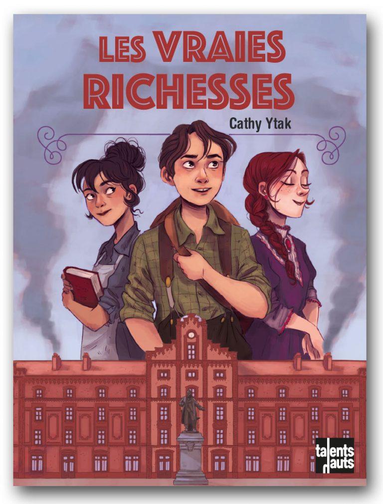 Les vraies richesses, couverture roman
